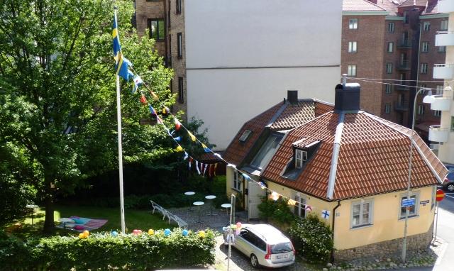 Studentfint på Jaktslottet, Foto: Hans-Rune Skagerlind.