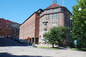 Hvitfeldtsgatan vid Kaserntorget. Foto: WikiCommons