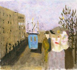 Den blå bussen (1948), Ragnar Sandberg.