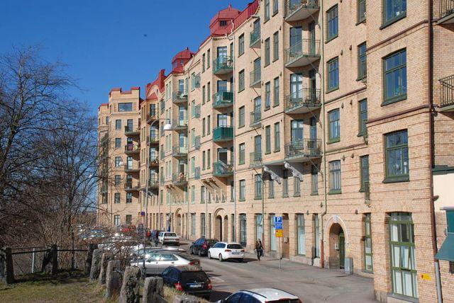 Arsenalsgatan på Kungshöjd  Foto: Wikimedia Commons
