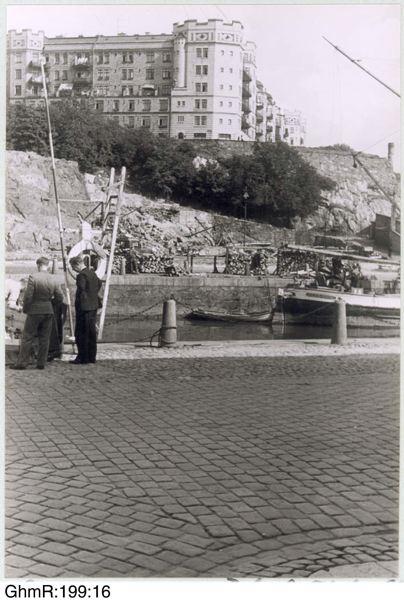 Kungshöjd 1939. Foto: Otto Thulin.