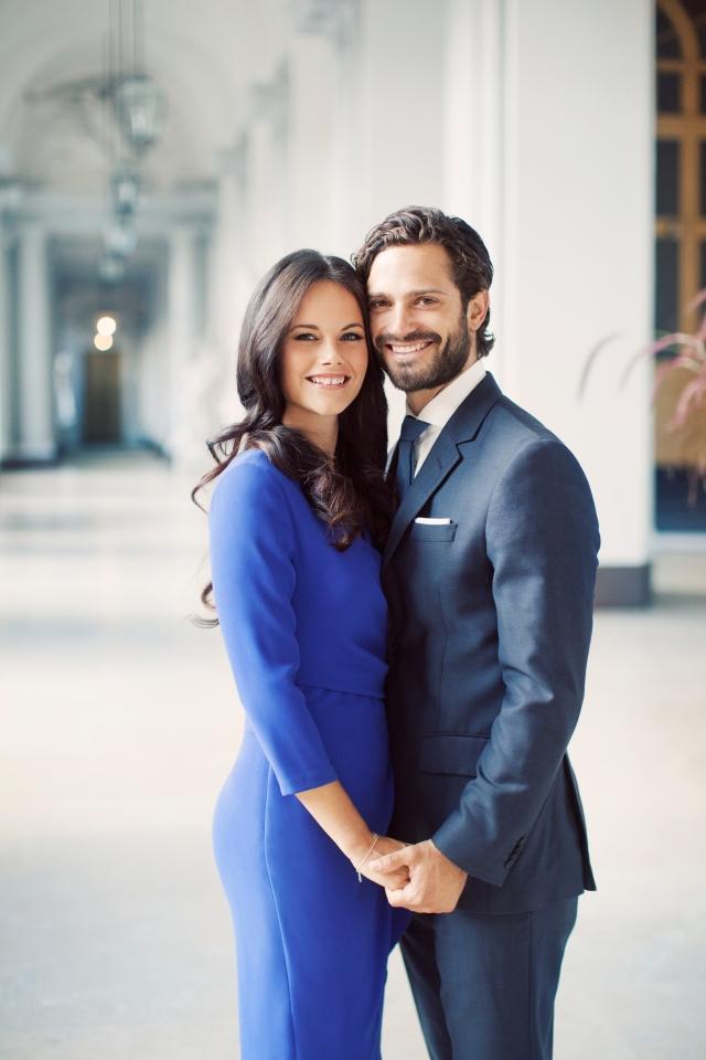H.K.H. Prins Carl Philip och fröken Sofia Hellqvist. Foto Erika Gerdemark, kungahuset.se