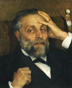 Pontus Fürstenberg, porträtt i olja av Ernst Josephson.