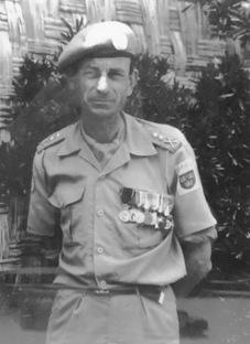 Leif Påhlsson på FN-uppdrag i Cypern 1982-83