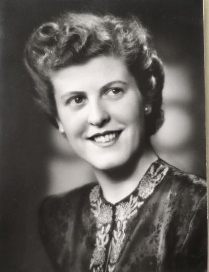 Inga-Britt Pütter, cirka 1950